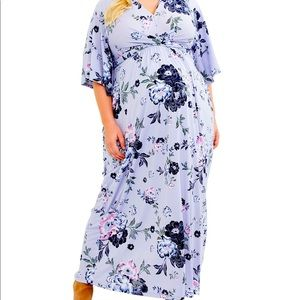 🌸NWT🌸 Maternity Plus Size Flor Maxi Dress